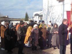 Начало Крестного хода в Каче на Андрея Первозванного