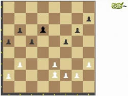 Равное количество пешек. Шахматный видео урок