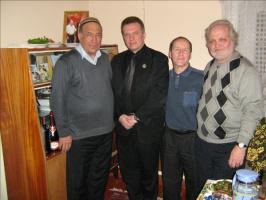 Праздник Андалиба в Туркменистане.  Март 2011. Писатель Агагельды Алланазаров принял нас у себя дома. г. Ашхабад