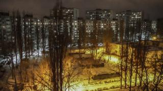 Зимняя ночь.
