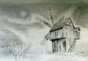 Старая мельница.