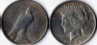 1 доллар. США. 1922г.