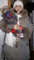 Я и мой любимец Тобиан. 2010г.