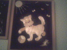 Шалунишка котенок.