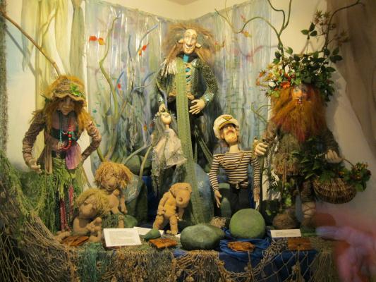Музей кукол. г.Петрозаводск, август 2011 года.