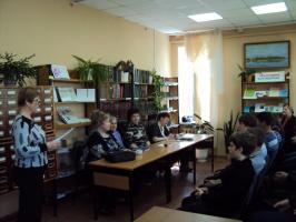 Встреча с учениками лицея